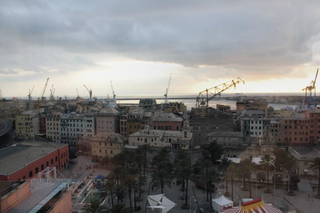 Genova Porto 1-1-2016 Tramonto (12)