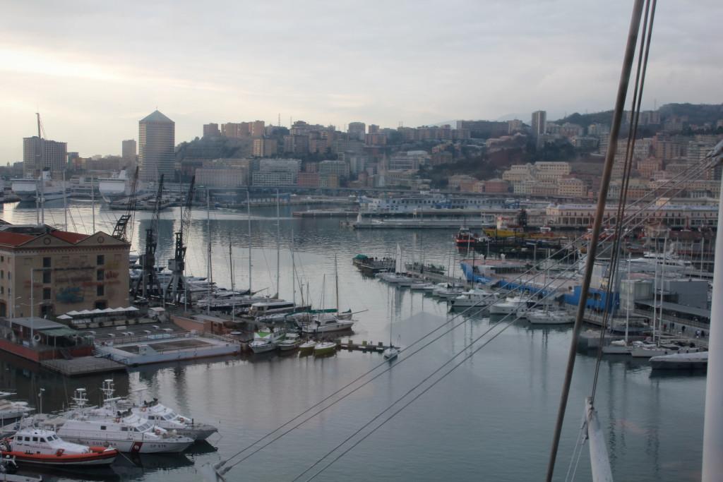 Genova Porto 1-1-2016 Tramonto (13)