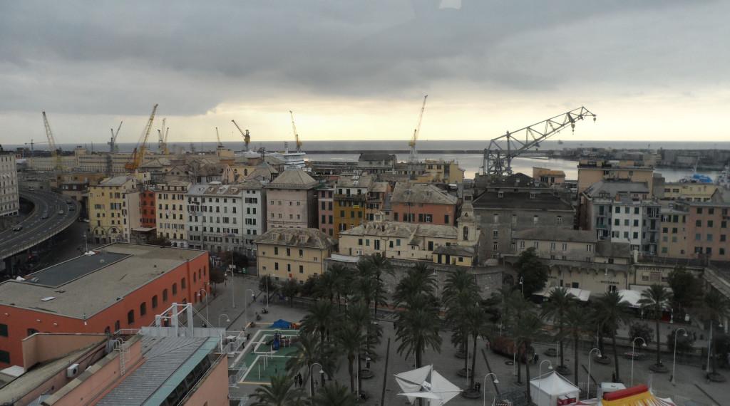 Genova Porto 1-1-2016 Tramonto (2)