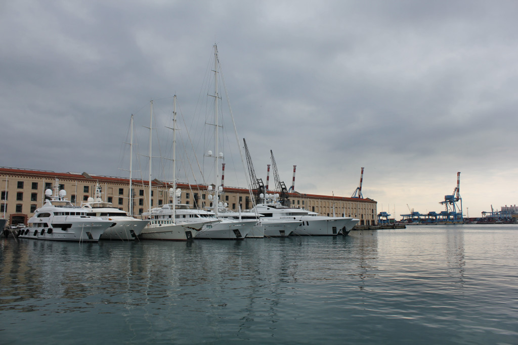 Genova Porto 1-1-2016 Tramonto (7)