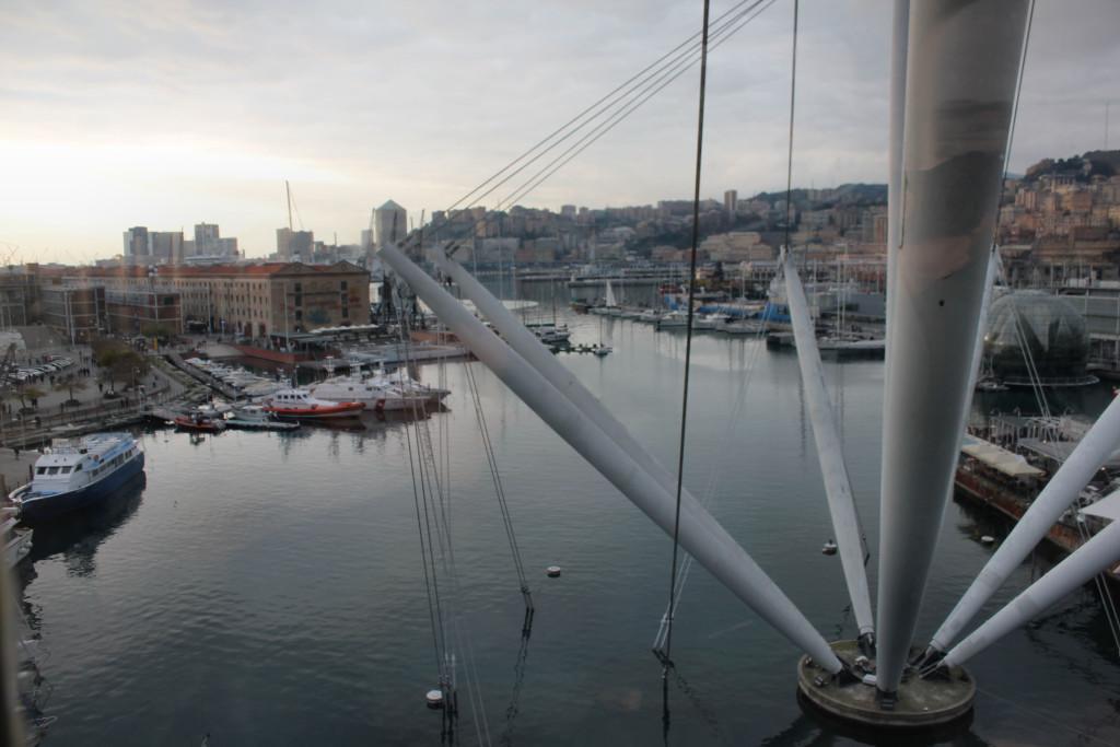 Genova Porto 1-1-2016 Tramonto (8)