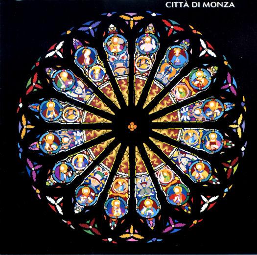 Il bellissimo rosone del Duomo di Monza