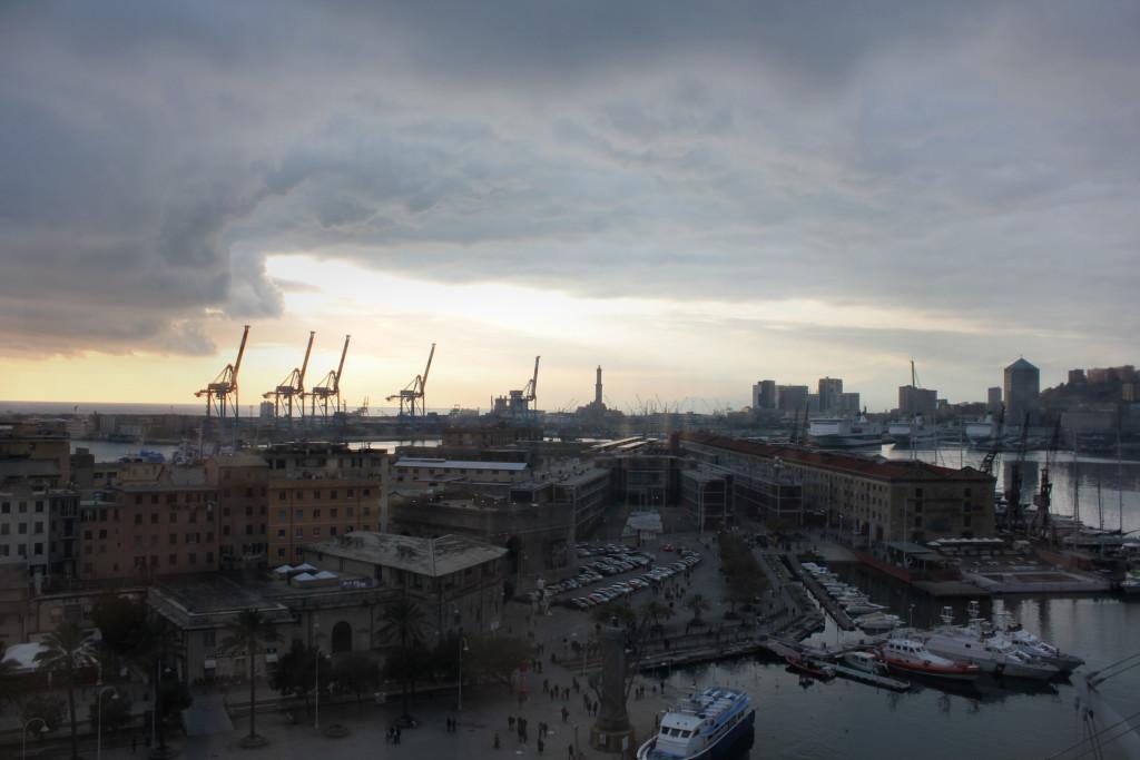 Genova Porto 1-1-2016 Tramonto (10)