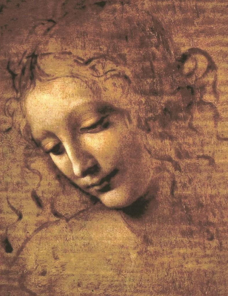 Di Leonardo da Vinci - La scapigliata